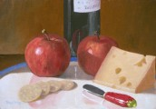 """Apples Wine & Swiss"""