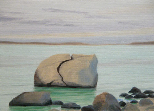 """Split Rock Calm Before Snow"""