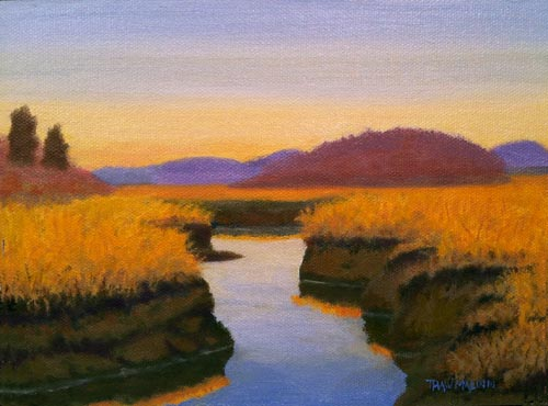 """New Year's Marsh"""