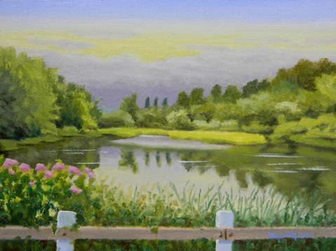 """""""August, Mill Pond"""""""