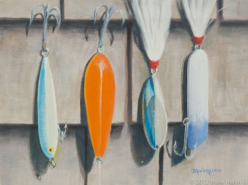 """Lures Drying"""