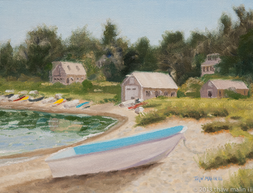 """Dinghy Beach"""